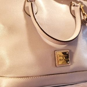 Light lavendar Dooney & Burke purse